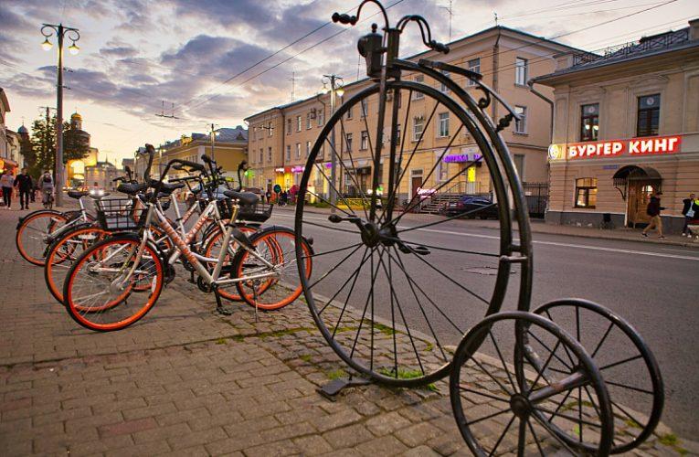 Жителей Владимира вынуждают платить крупные штрафы после использования велошеринга