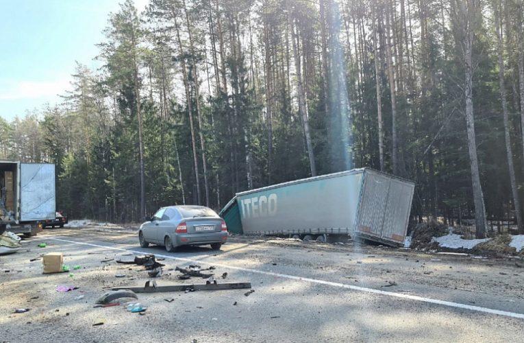 Трое людей погибли в жестком ДТП с грузовиком во Владимирской области