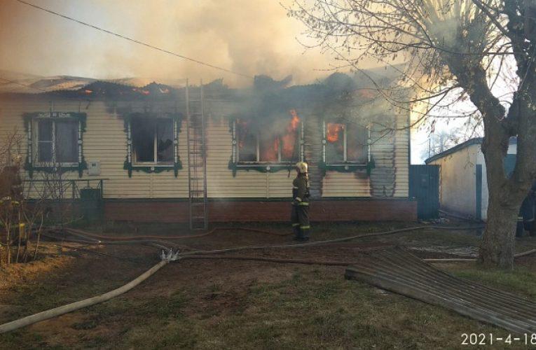 ВМуромском районе сгорели два частных дома