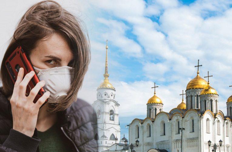 За сутки во Владимирской области выявили 65 новых случаев коронавируса
